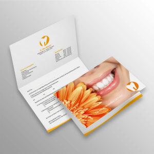 Verschluss-Recallkarten wave sonnengelb Datenschutz Zahnarzt