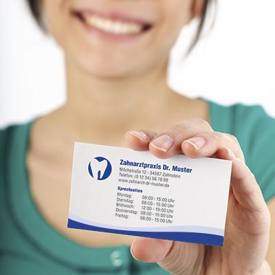 Visitenkarten Zahnarzt
